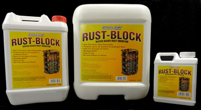 Photo Rust Block Containers